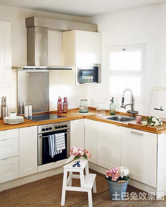 2013開放式小廚房裝修效果圖