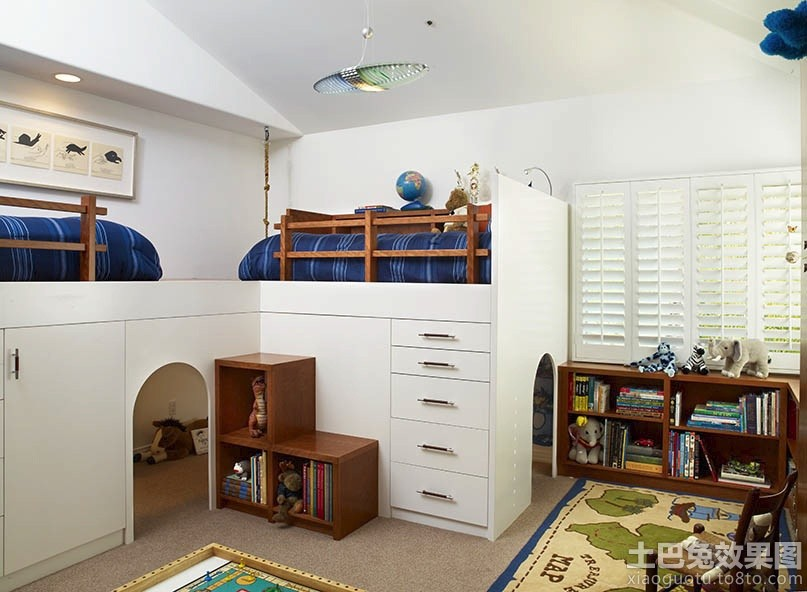 创意儿童房设计装修效果图图片