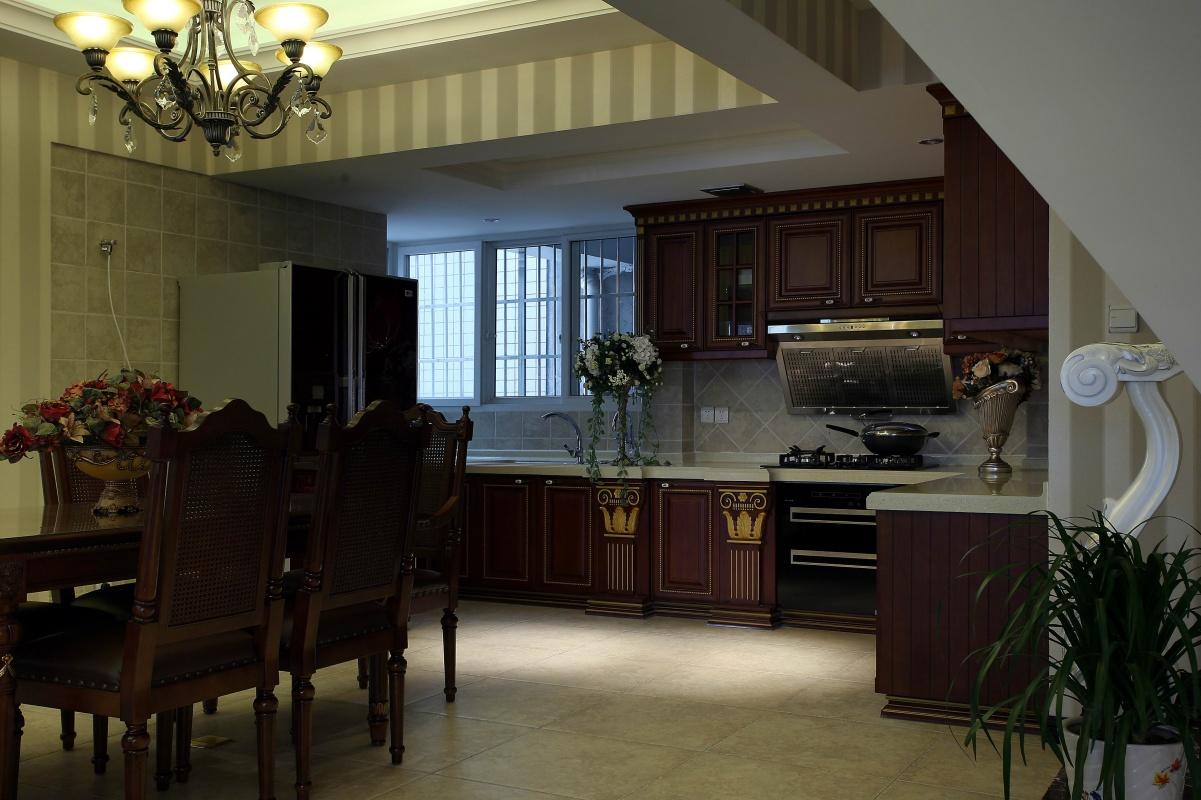 欧式小户型开放式厨房装修效果图欣赏