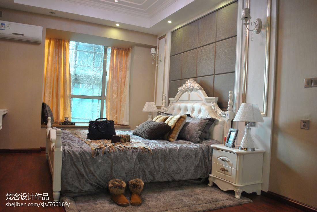 欧式主卧室装修效果图2013图片