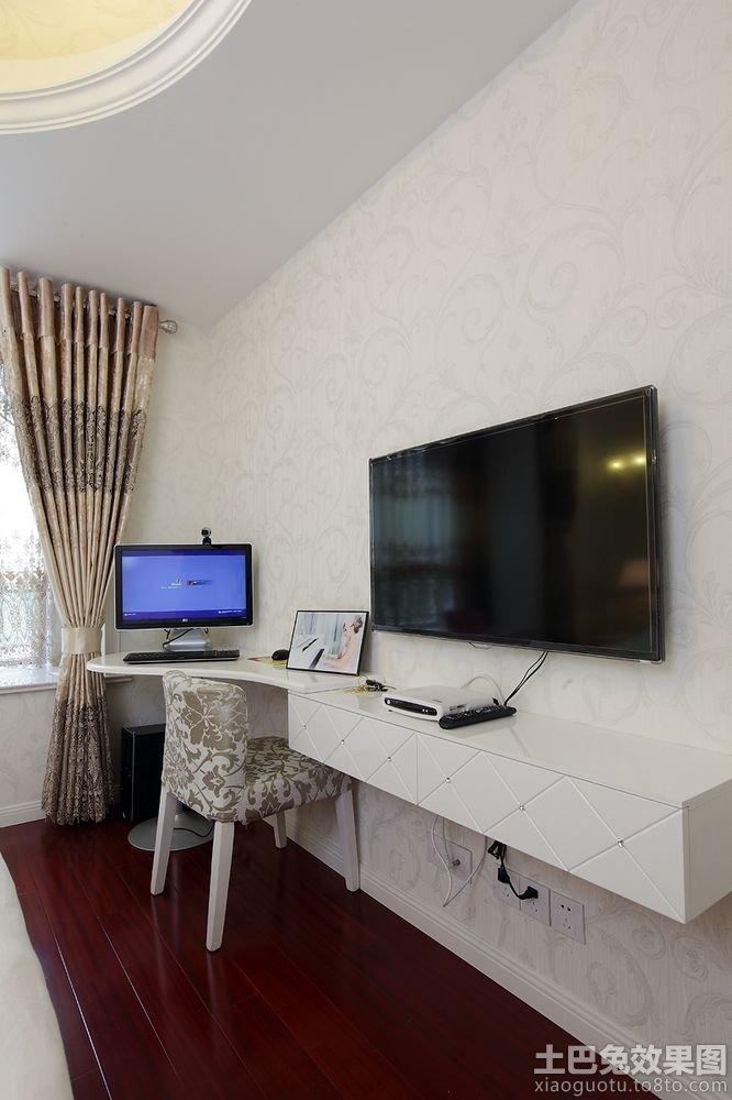 简单电视机背景墙效果图
