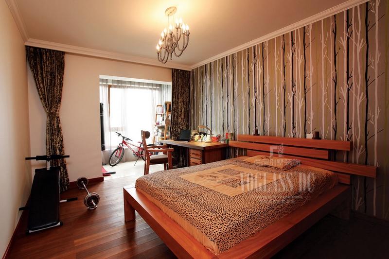 简中式次卧室装修效果图大全2013图片图片