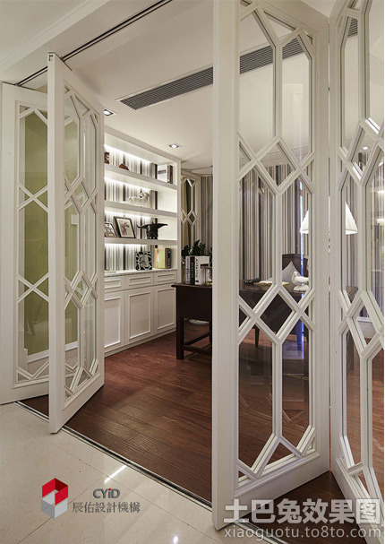 室内折叠门装修效果图