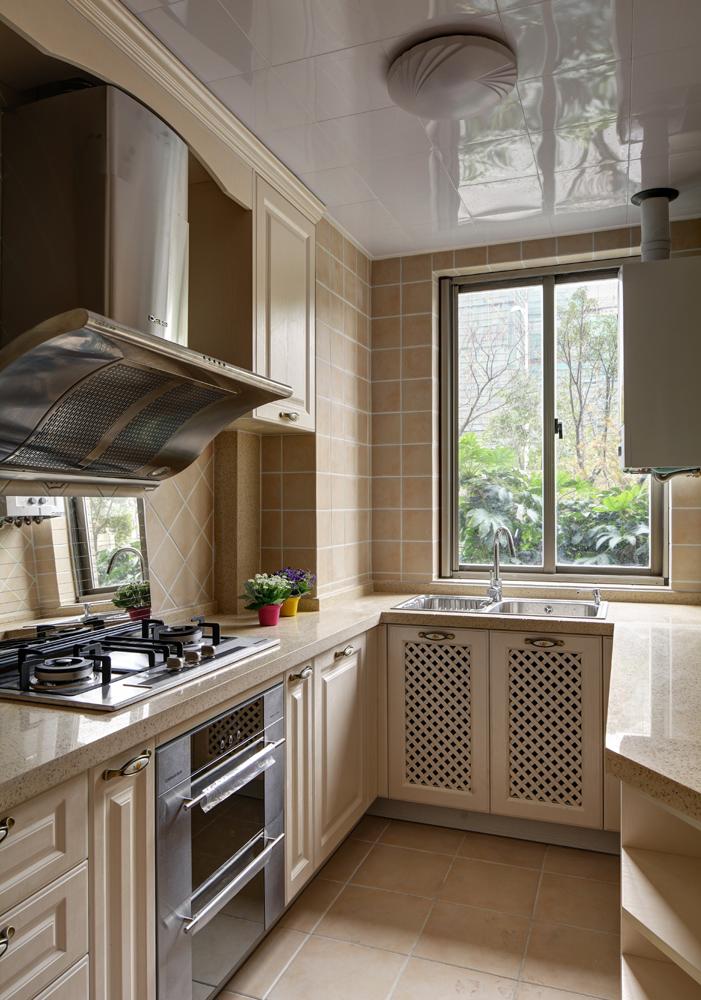 欧式小户型厨房装修效果图