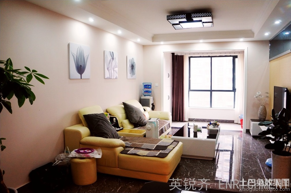 小户型客厅装修效果图大全图