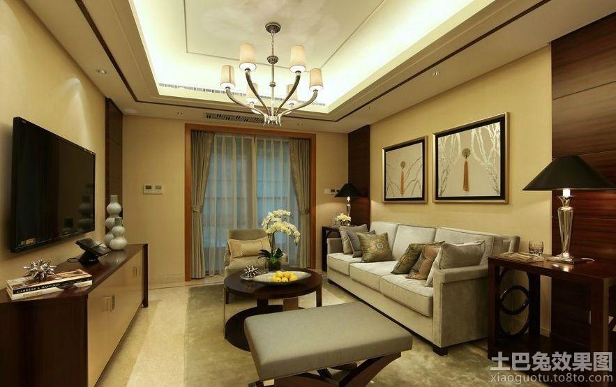 客厅吊顶灯带效果图