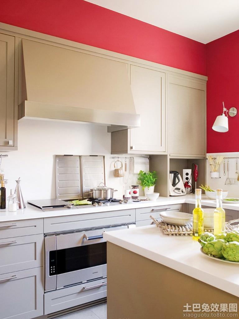 一字型厨房装修效果图大全图片