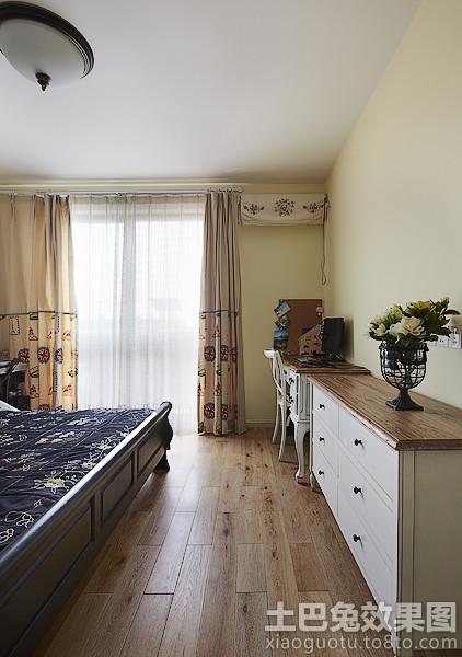 卧室实木地板贴图图片