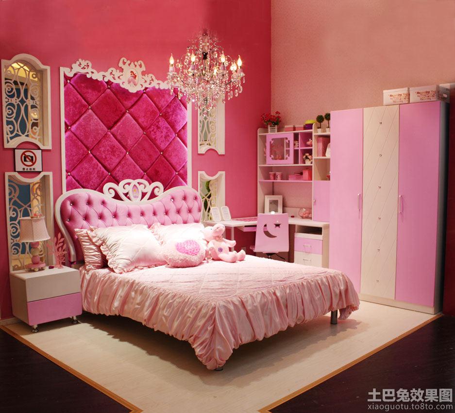 公主房儿童床图片
