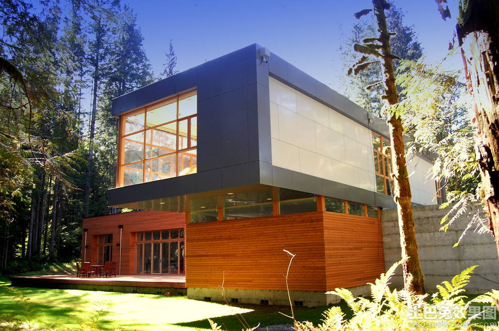二层现代别墅设计图