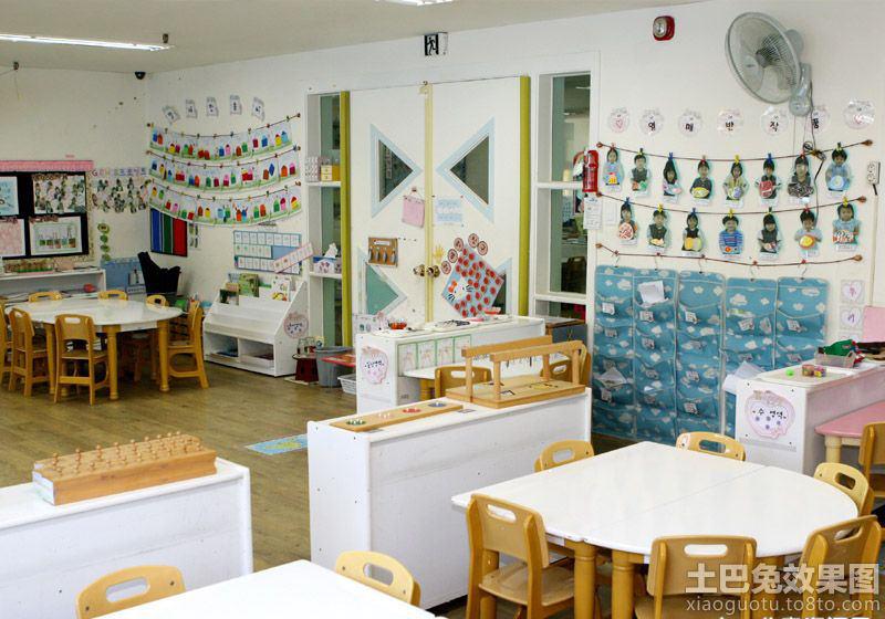 2013最新幼儿园教室布置图片
