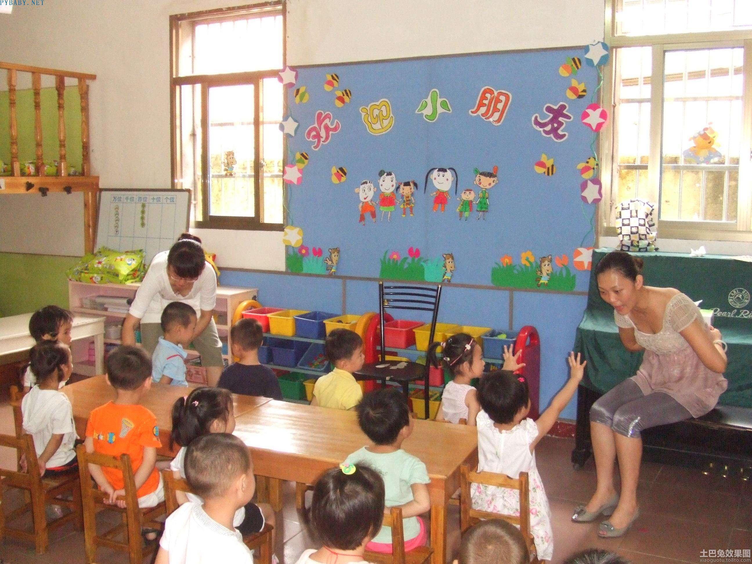 幼儿园墙面布置图片欣赏