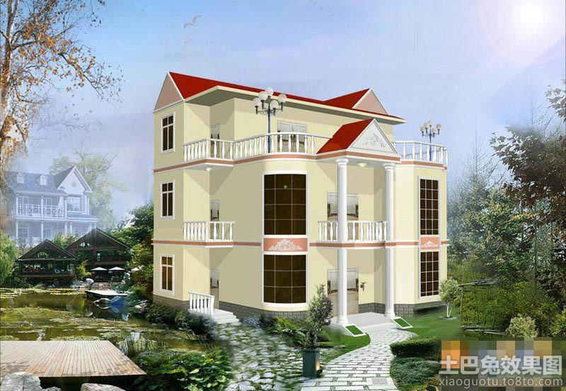 欧式别墅房屋设计图