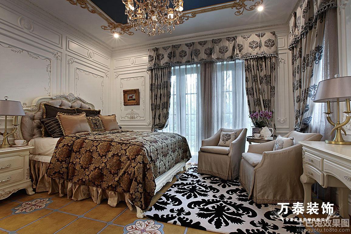 豪华卧室装修效果图大全图片