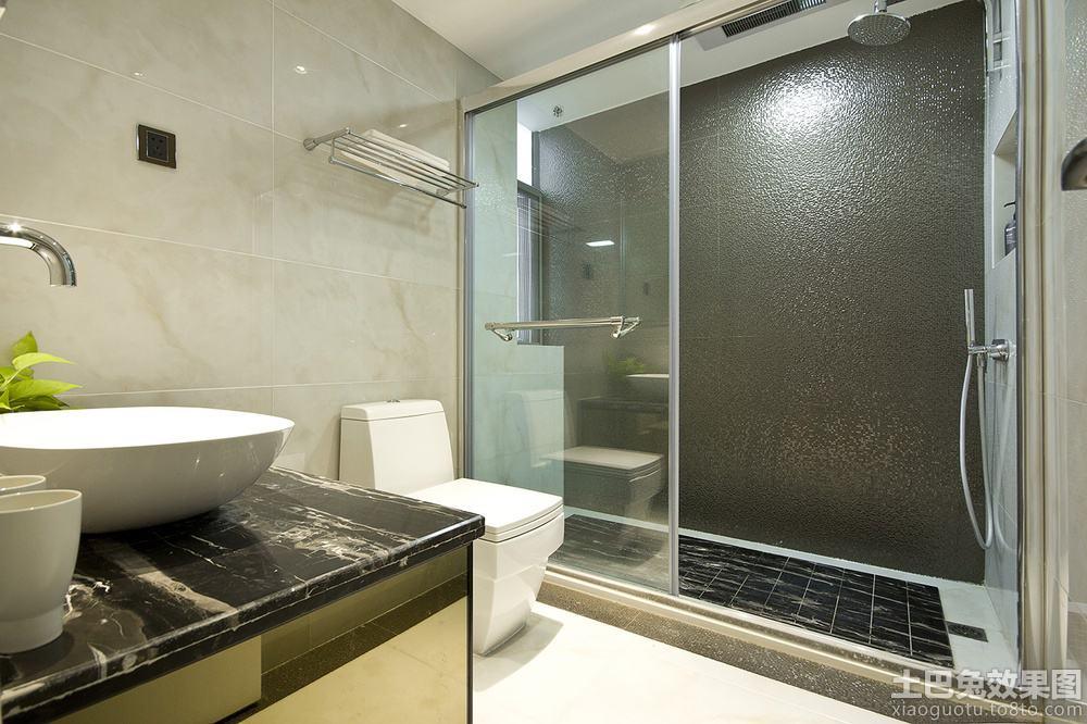 卫生间淋浴室隔断效果图片欣赏