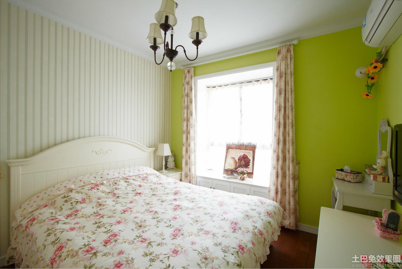 韩式田园风格卧室装修效果图欣赏图片