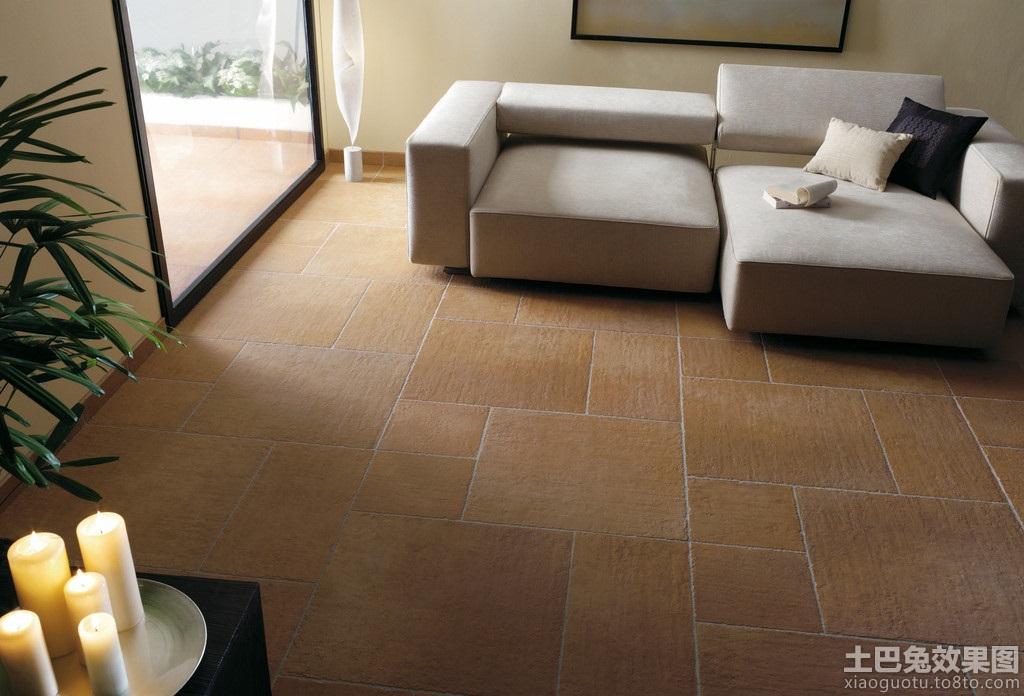 客厅木纹地板砖效果图