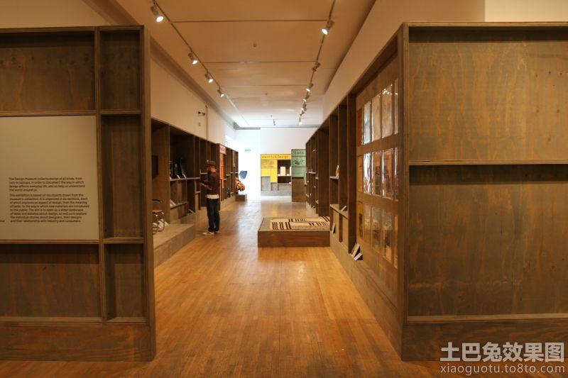 博物馆内部设计效果图