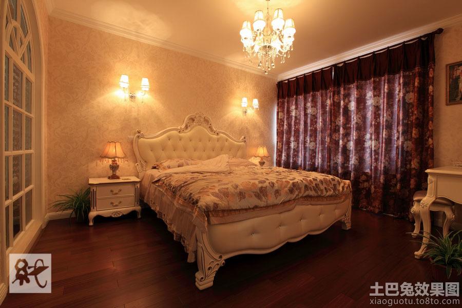 温馨欧式主卧室装修效果图欣赏图片