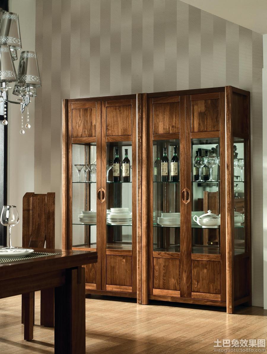 现代中式酒柜效果图图片