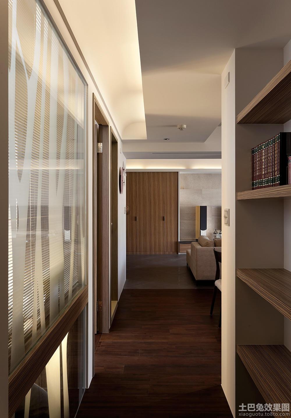 客厅走廊木地板贴图