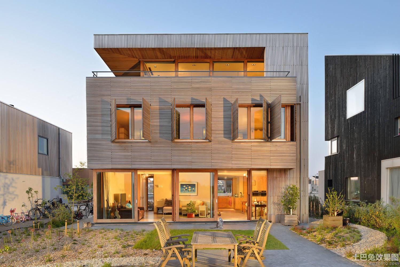 木质别墅设计图