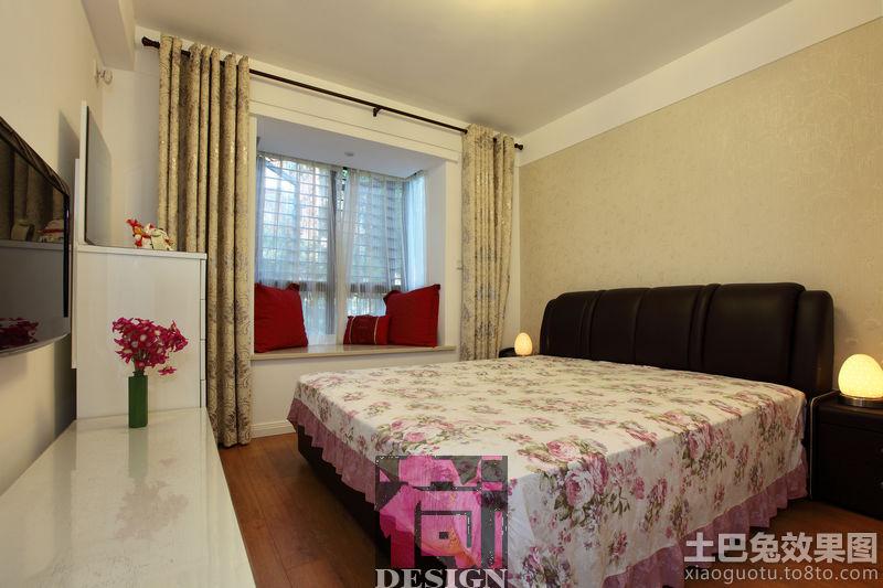 现代简装卧室装修效果图图片