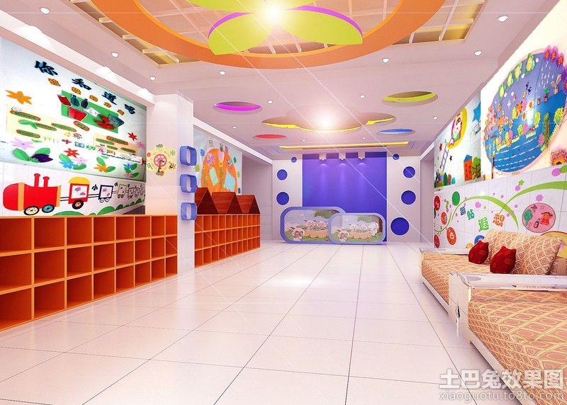 大型幼儿园墙面布置图片