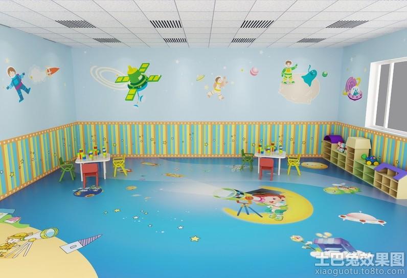 现代幼儿园墙面布置图片