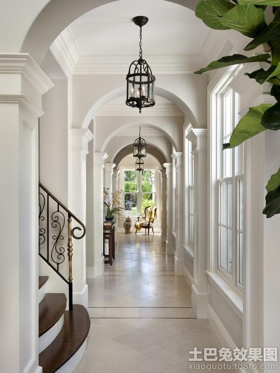 欧式别墅走廊设计