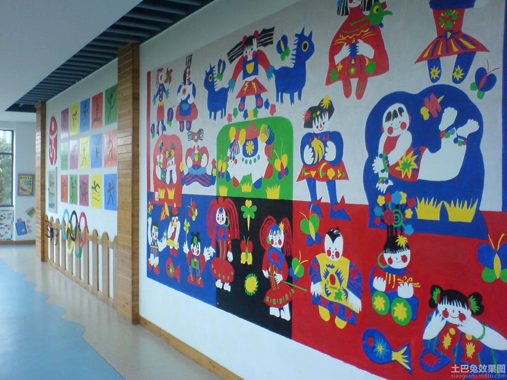 2014幼儿园环境布置图片图片