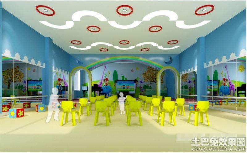 幼儿园教室环境布置图片