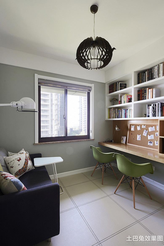 4平米小书房装修效果图欣赏