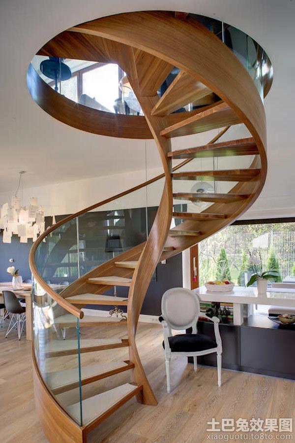 室内旋转楼梯设计图