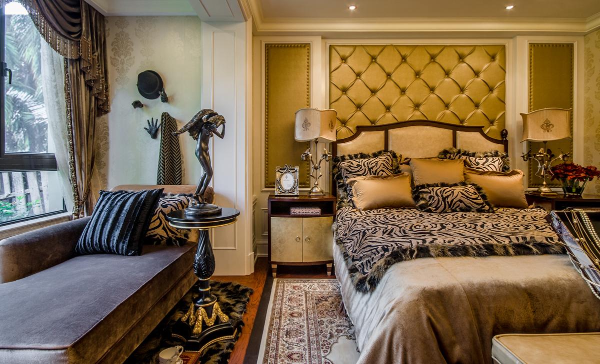 豪华欧式主卧室装修效果图图片