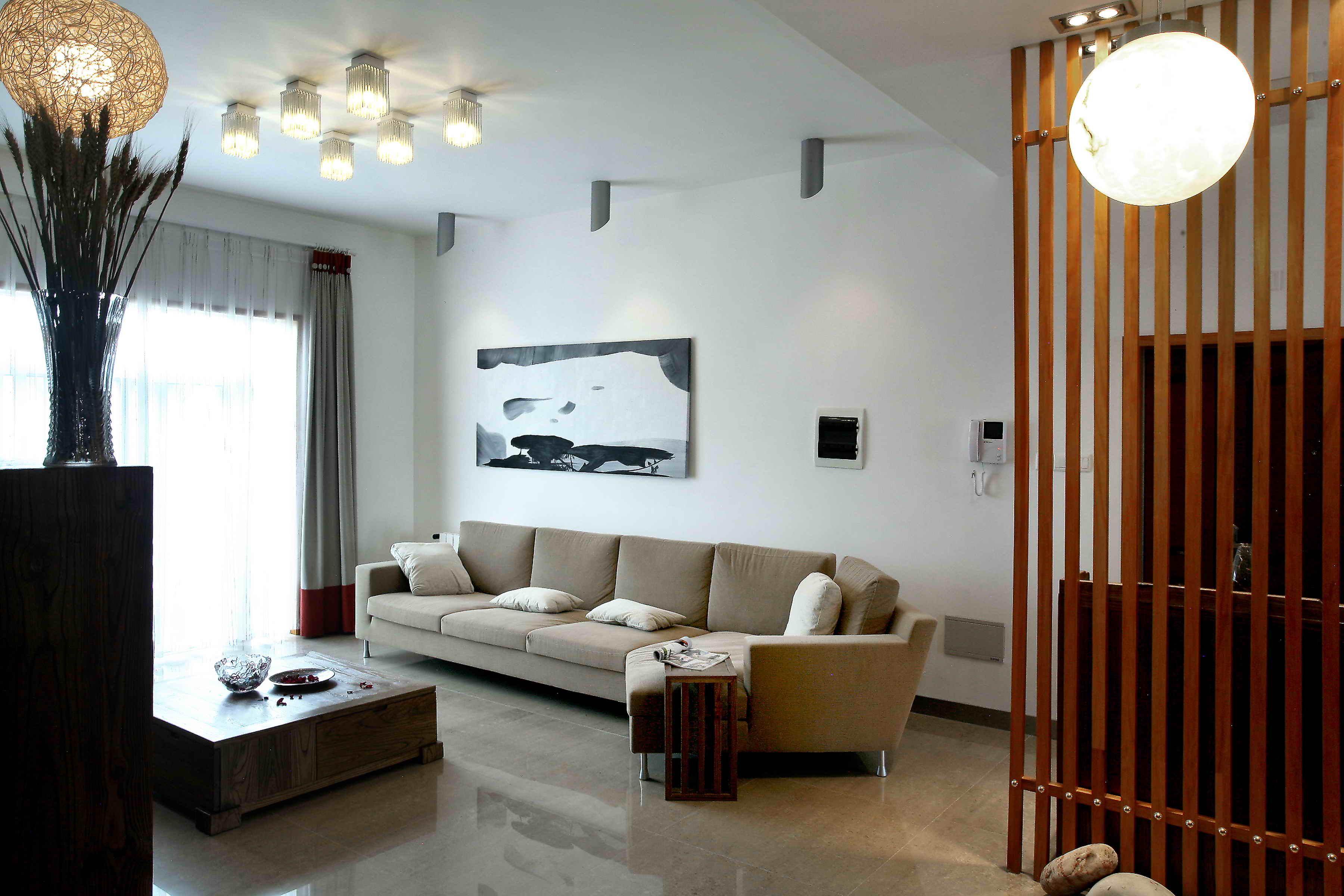 简单小户型客厅装修效果图图片