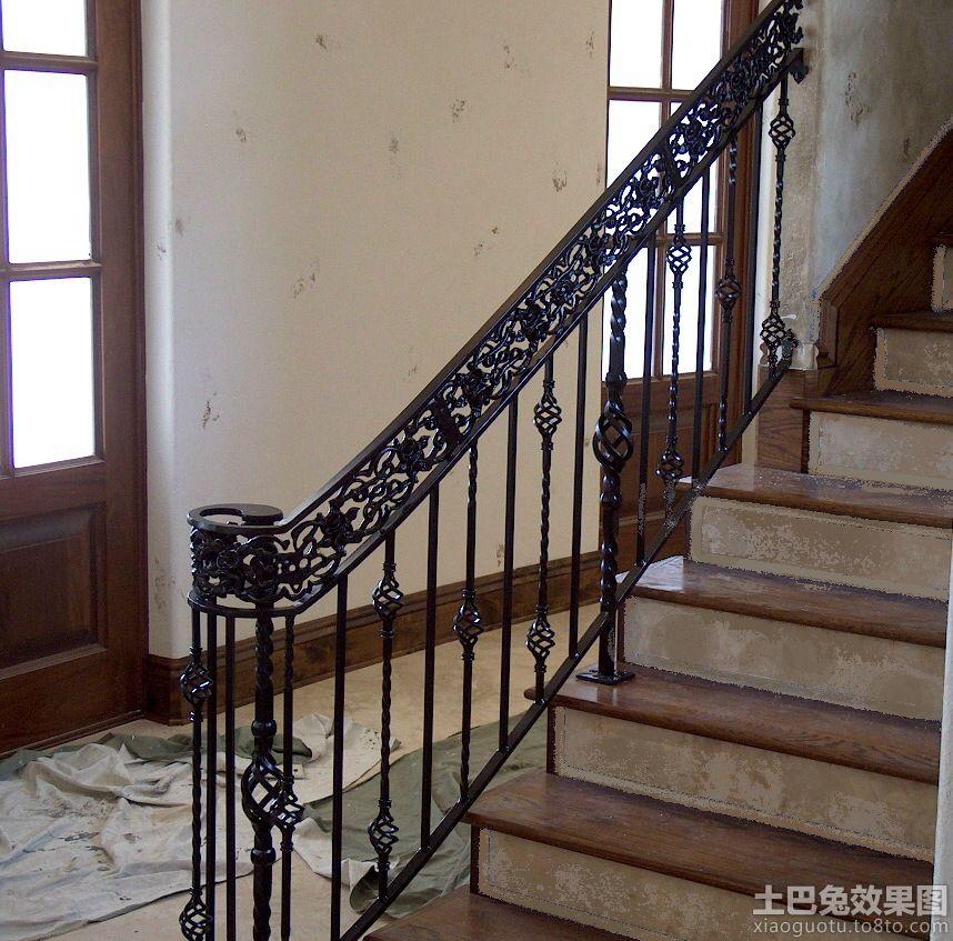 家用铁艺楼梯扶手图片图片