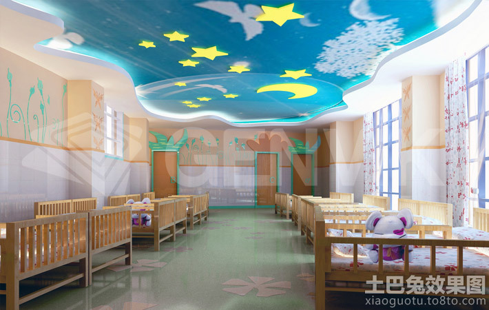 幼儿园吊顶装修设计