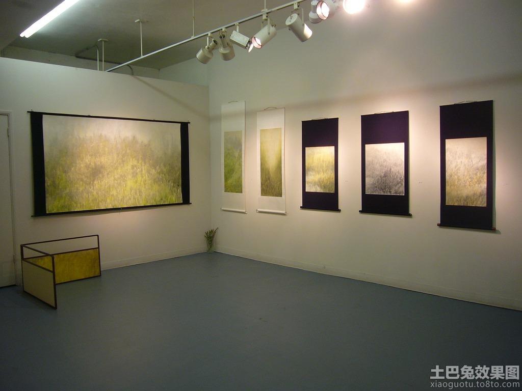 书画展厅装修图图片
