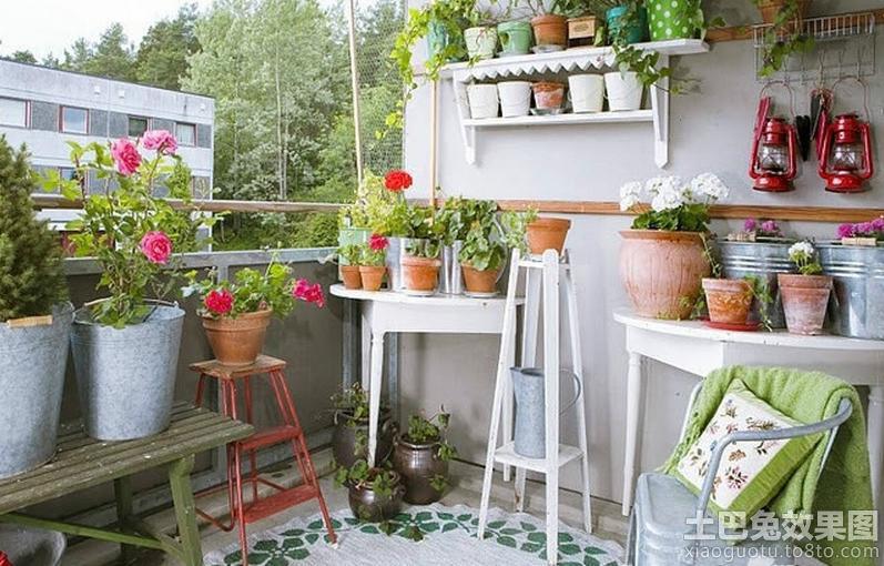 阳台花架效果图片欣赏