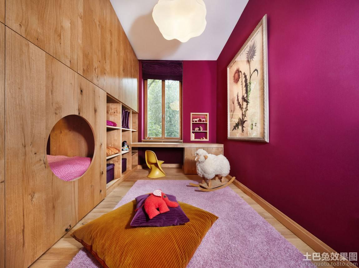 别墅儿童房间装潢设计