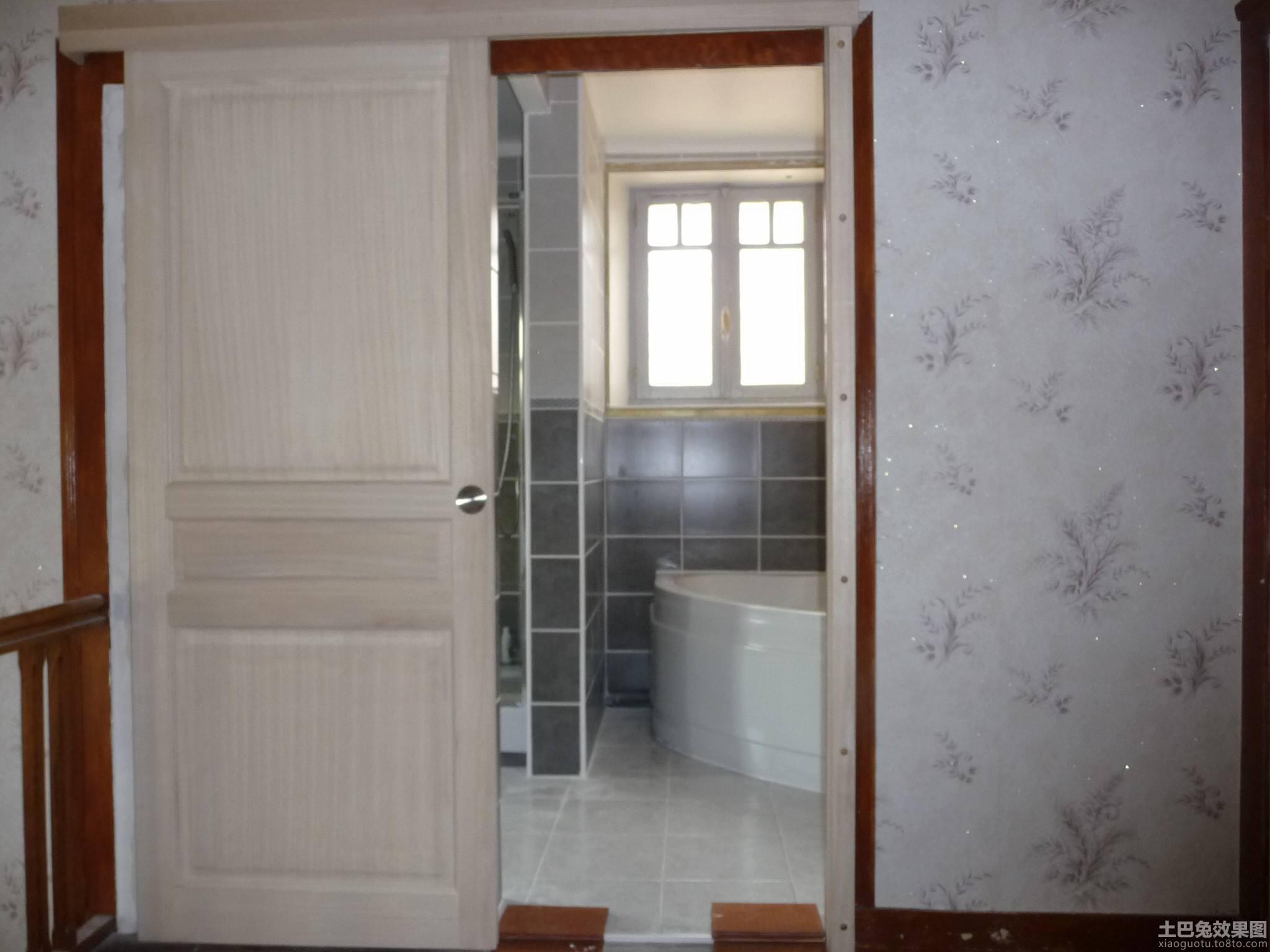装修浴室门效果图