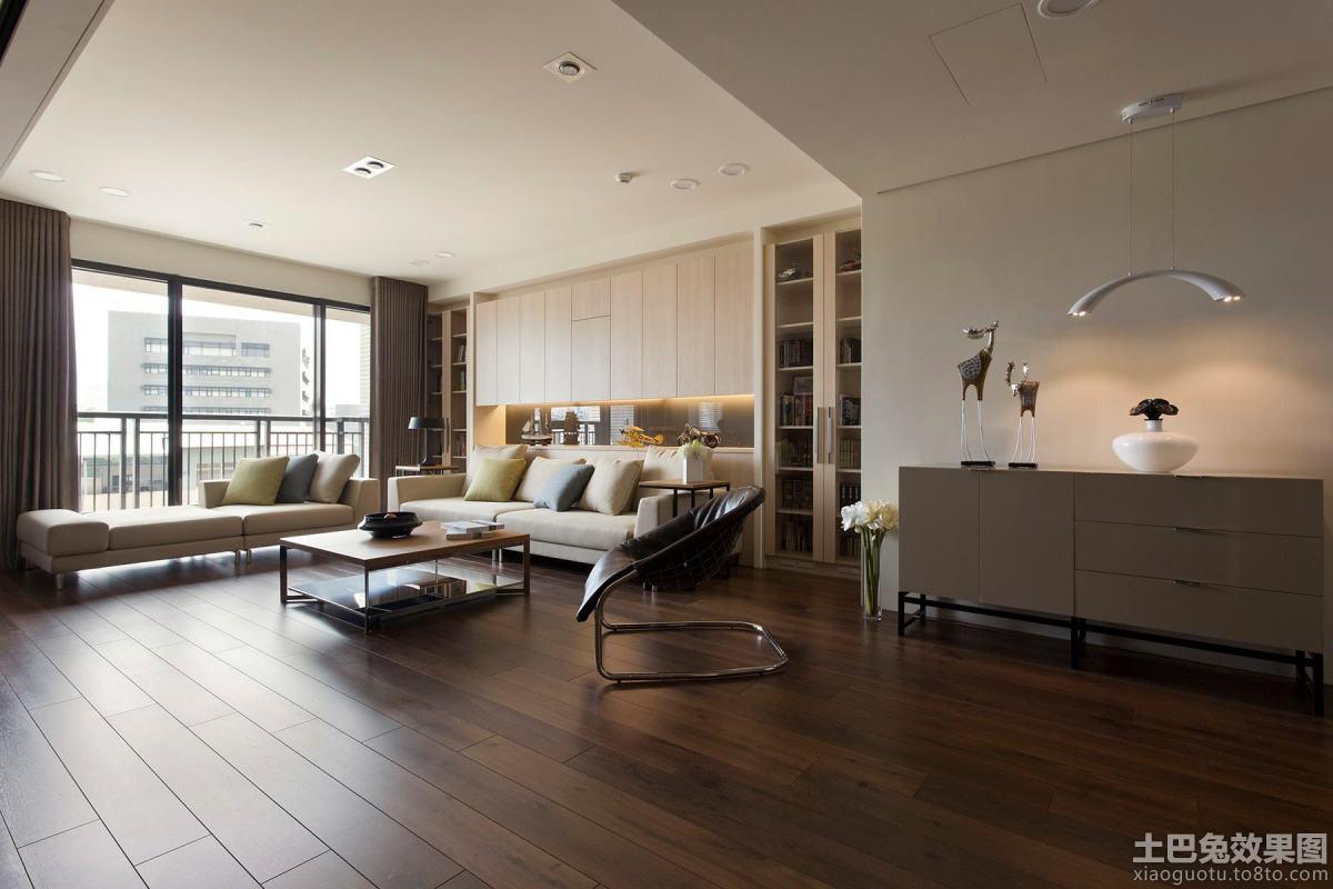 实木地板贴图装饰 - 装修效果图