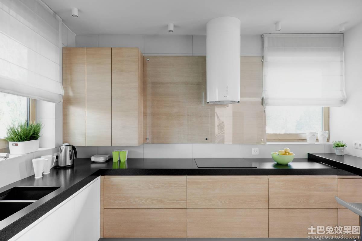 简装厨房彷大理石台面效果图
