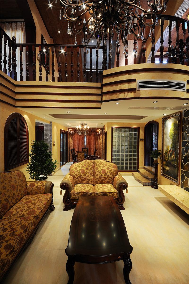 古典欧式风格别墅装修效果图