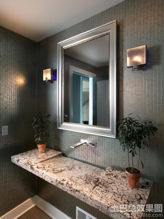 大理石卫生间洗手池图片