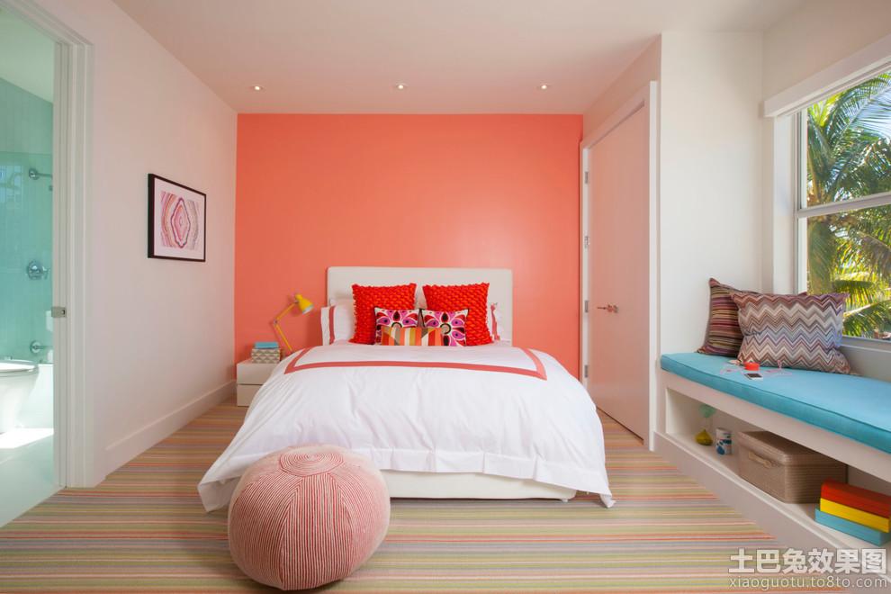 简约时尚儿童房间设计图