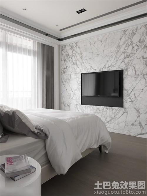 卧室电视墙装修图片