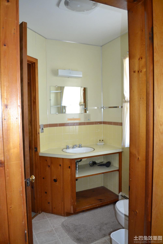 卫生间木质平开门图片