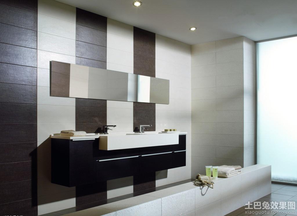 现代简约卫生间瓷砖贴图欣赏